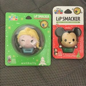 NWT Disney Tsum Tsum Lip Smacker lip balm bundle
